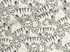 Jersey Single - Katzen - Kinderträume - natur
