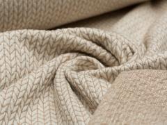 BIO Jacquard - Knit Knit - Glam Edition - Glitzer - Hamburger Liebe - Albstoffe - natur