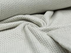 BIO Jacquard - Knit Knit - Glam Edition - Glitzer - Hamburger Liebe - Albstoffe - weiß