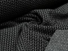 BIO Jacquard - Knit Knit - Glam Edition - Glitzer - Hamburger Liebe - Albstoffe - schwarz