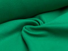 Bündchen Feinripp - uni - froschgrün