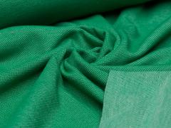 Jersey Single - Jeansoptik - froschgrün