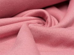 Reststück 1,10m - Sweat - rosa - Glitzer - angeraut