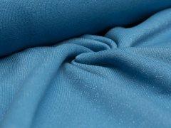 Sweat - blau - Glitzer - angeraut