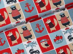 Jersey Single - Piraten - Stenzo - blau - rot