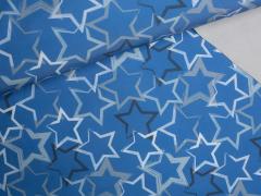 Softshell - Sterne - blau