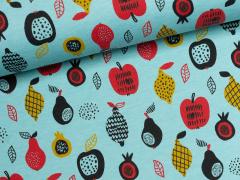 Sweat - Fruits - Früchte - hellblau