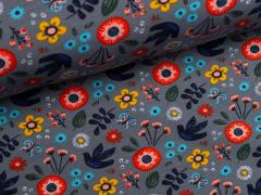 Sweat - Peace Flower - Blumen - grau