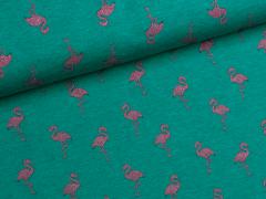 Sweat - Flamingo - grün