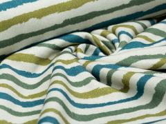 Sweat - Stripe - Streifen - Hilco - natur - blau - grün