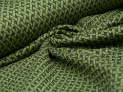 BIO Jacquard - Wave Knit - Hamburger Liebe - Albstoffe - grün
