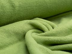 BIO Baumwoll Teddy - Albstoffe - grün