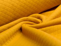 Baumwollstepp - senfgelb