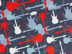 Jersey Single - Gitarren - Stenzo - blau