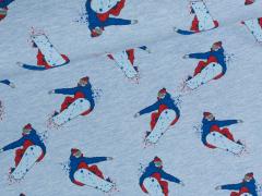 Sweat - Snowboard - Stenzo - blau meliert
