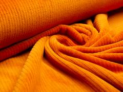 BIO Cord Nicki - Hamburger Liebe - Albstoffe - orange - Reststück 0,45m