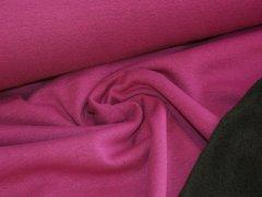 Alpenfleece - pink - meliert - uni