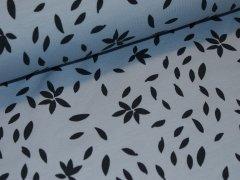BIO Sweat - Blätter - hellblau