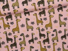 Jersey Single - Giraffen - Stenzo - rosa