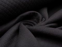 Baumwollstepp - schwarz