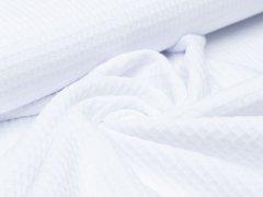 Baumwoll Waffel - Hilco - weiß