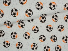 Jersey Single - Football fun - Fußball - hellgrau
