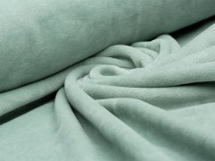 Reststück 1m - Nicki - mint pastell - uni