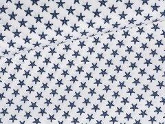 Baumwolle - Seesterne - weiß