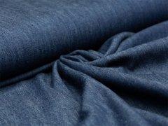 Reststück 0,60m - Jeans - melange - jeansblau