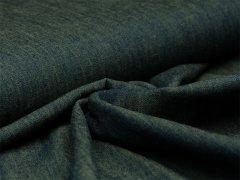 Jeans - melange - blau - gelb