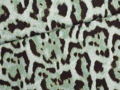 Jersey Single - Leopard - grün