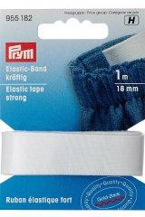 Elastic-Gummiband - kräftig - 1m - 18mm - Prym