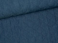 Reststück 0,40m - Stepper - Jeans - blau