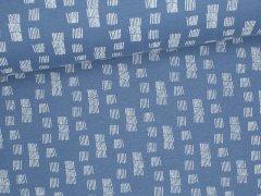 Sweat Soft - Funky Stripes - blau