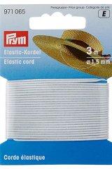 Elastic-Kordel - 3m - 1,5mm - Prym weiß