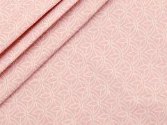 Baumwolle - Floral - Stenzo - rosa - weiß