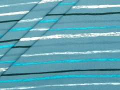 Jersey Single - Streifen - blau - dunkelblau - schwarz - weiß - Stenzo - hellblau