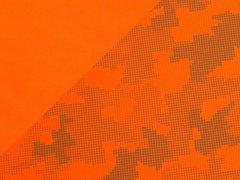 Softshell - reflektierend - orange