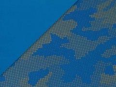 Softshell - reflektierend - blau