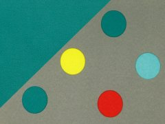 Softshell - Punkte - Dots - grau