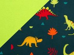 Softshell - Dinos - dunkelblau