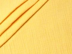 Musselin - Double Gauze - uni - gelb