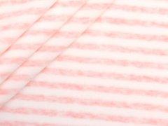 Nicki - Streifen - rosa - weiß
