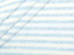 Nicki - Streifen - hellblau - weiß