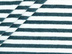 Nicki - Streifen - jeansblau - weiß