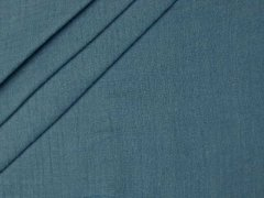 Bio Musselin - Double Gauze - uni - blau