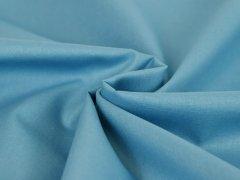 Reststück 0,65m - Baumwolle - uni - blau