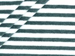 Nicki - Streifen - navy - weiß