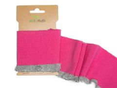 BIO Bündchen - Cuff me Frill - Rüsche - Albstoffe - pink