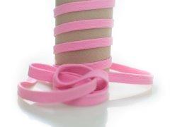 Kordel - 12mm - flach - rosa